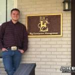 Jacob Nelson outside of Big Enterprises in Nashville, TN