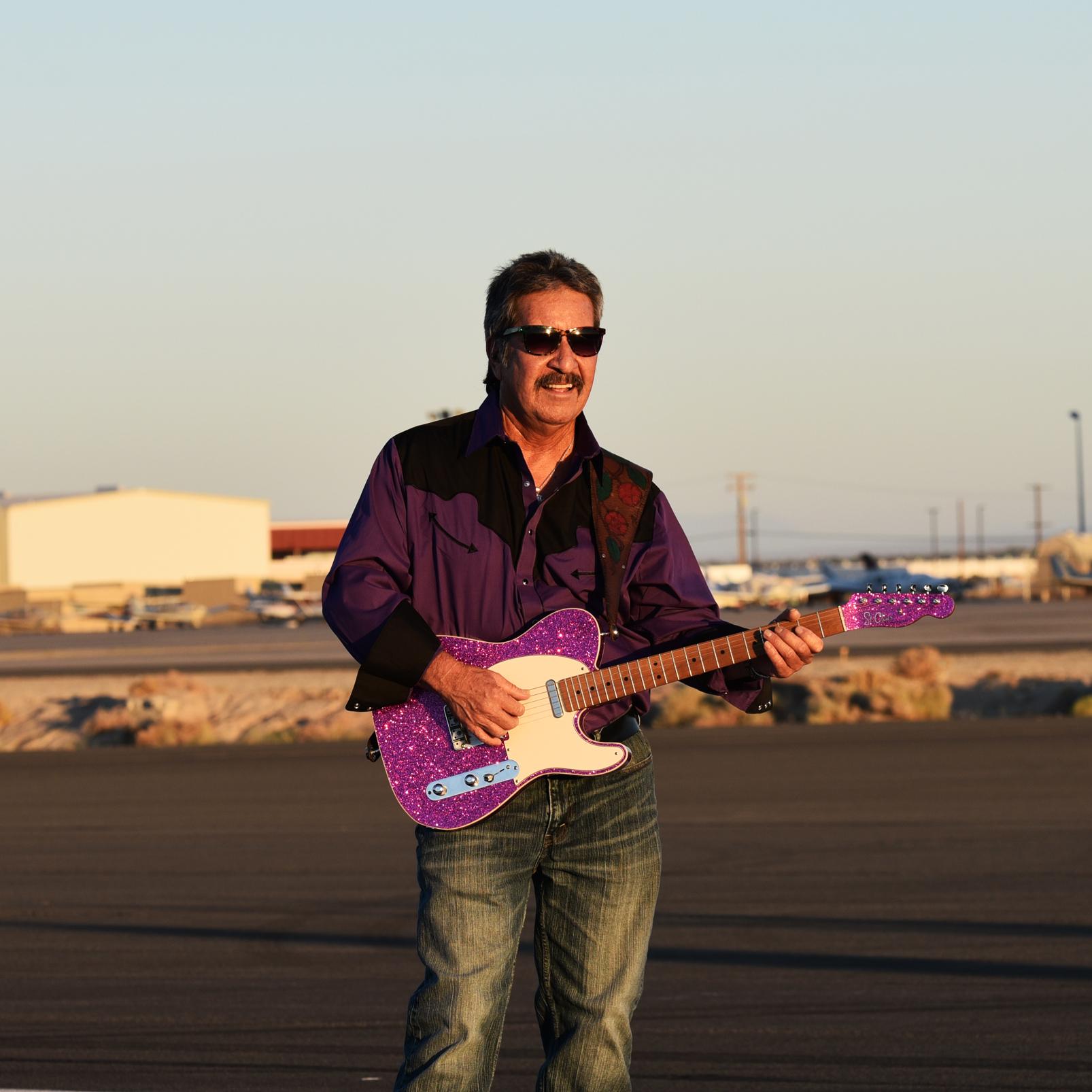 Ruben Dominguez Guitarist The Tone Wranglers
