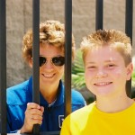 Jacob Nelson and Eileen Collins