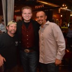 """Jacob Nelson, Dave """"Mighty Mouse"""" West and Tim at Bex Bar and Grill"""