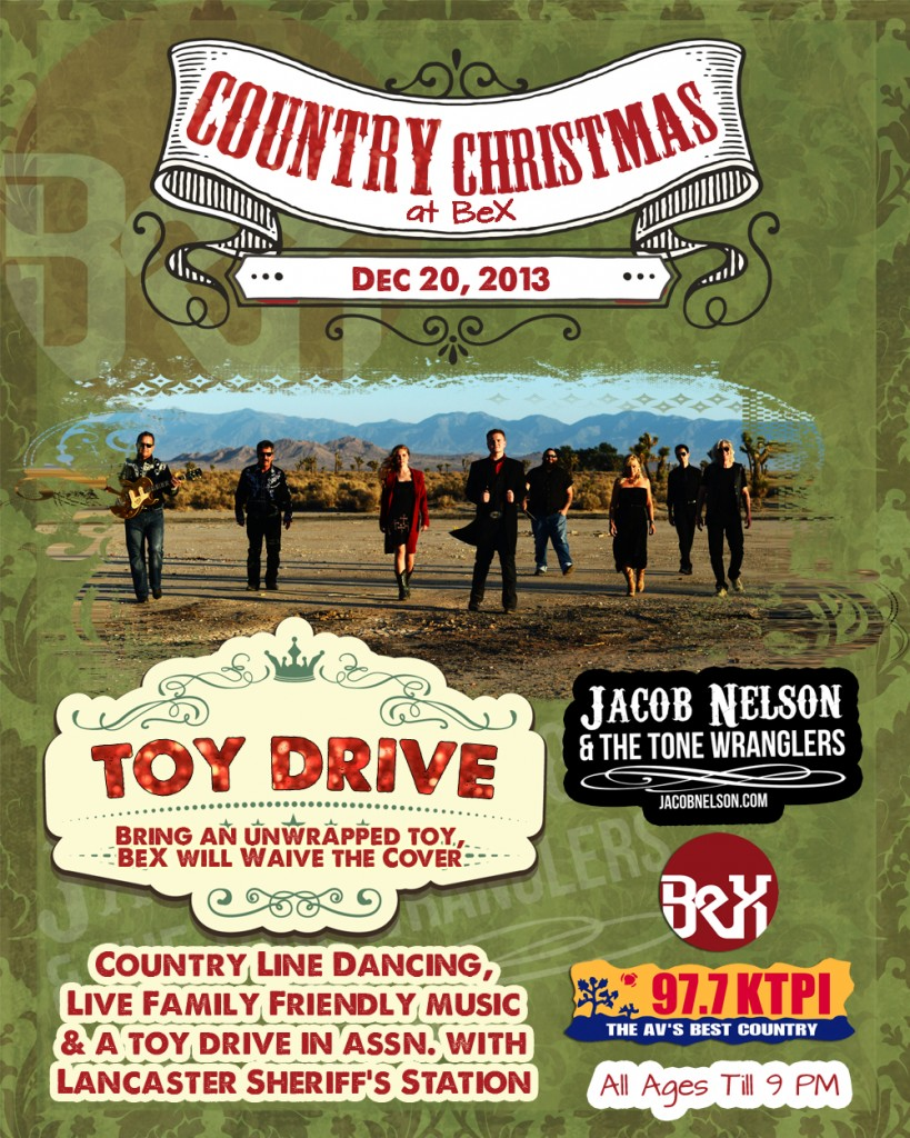 Christmas at BeX - Toy Drive and Live Music